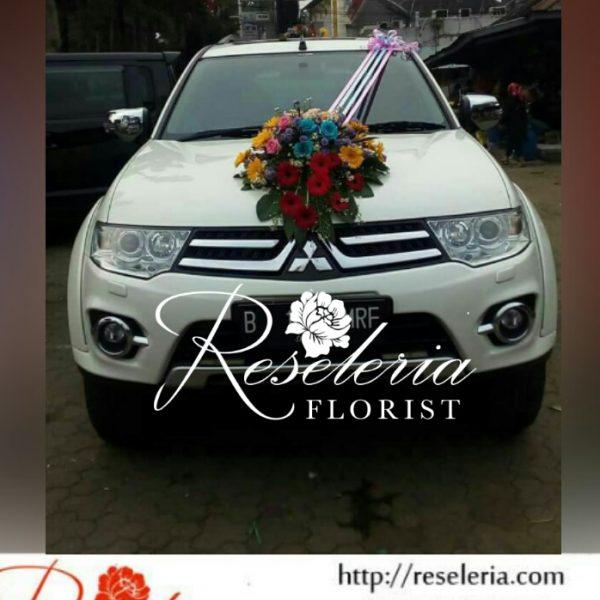 Dekorasi Mobil Pengantin P3006 Toko Bunga Bandung